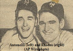 Antonelli (left) and Rhodes (right)